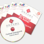 Draama Theater Festival Program Album Set Offset Die-cut Folder DVD