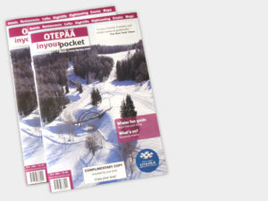 Otepää In Your Pocket Offsed Saddle-stitching Tourist Brochure