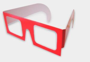 3D Offset Anaglyph Glasses Die-cut Custom Project