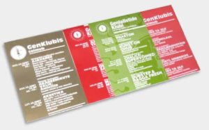 GenKlubi Offset Spot Color Flyers