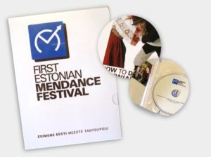 First Estonian Mendance Festival Multimedia Compilation Offset Package Brochure DVD